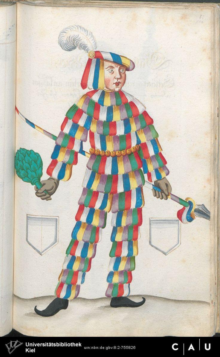 Nürnberger Schembart-Buch Erscheinungsjahr: 16XX  Cod. ms. KB 395  Folio 219