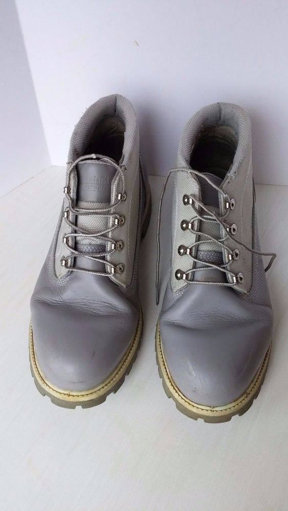 Timberland Chukka Mens Shoe Boot Leather Synthetic Grey Size 12 Waterproof    Clothing, Shoes & Accessories, Men's Shoes, Boots   eBay!