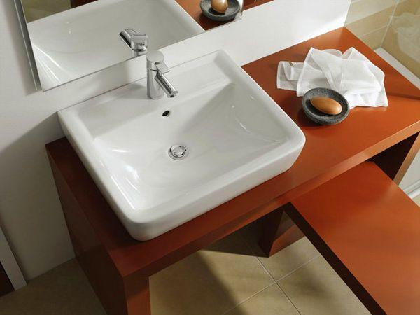 Keramag Renova Nr. 1 Plan umywalka prostokątna 55x44cm