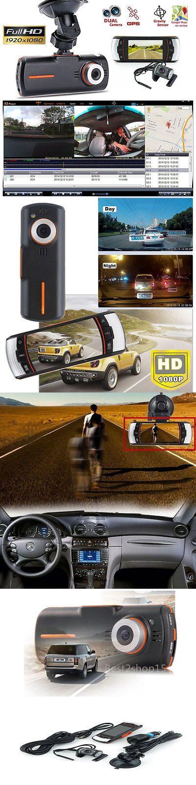 Digital Video Recorders Cards: 2.7 Vehicle 1080P Car Dvr Camera Video Recorder Dash Cam G-Sensor Gps Dual Lens -> BUY IT NOW ONLY: $38.2 on eBay!