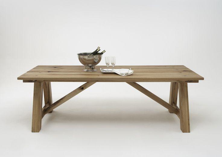 Plankebord i massive planker - langborde - massive spiseborde