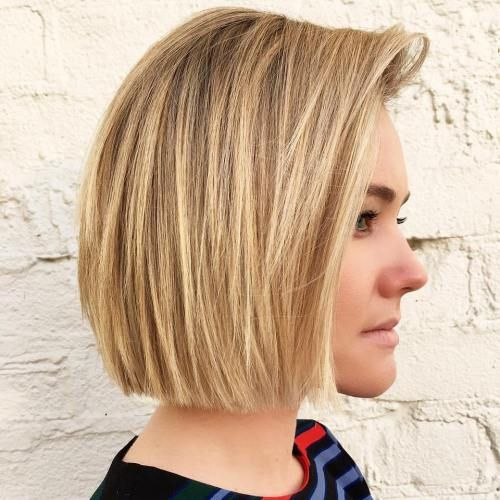 The 25 best blunt haircut with layers ideas on pinterest blunt 50 spectacular blunt bob hairstyles urmus Choice Image
