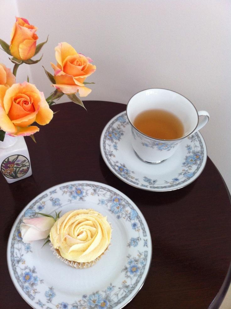 GF Rose Water & Cardamon Cupcakes http://www.facebook.com/sugarbloss