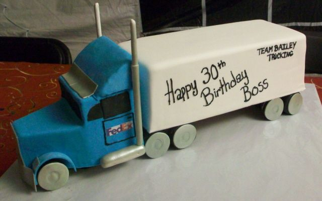 from yumyumcakedesigns.com.  Paul has two semis he had since he was a kid. I'd like to try to recreate one for his birthday.