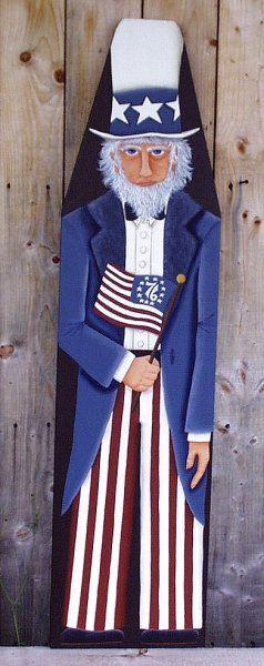 Google images of primitive sam wood patterns | PatternMart.com ::. PatternMart: Americana Uncle Sam