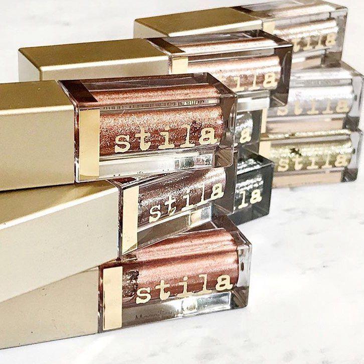 Stila Magnificent Metals Glitter and Glow Liquid Eyeshadows via @makeupqueensny
