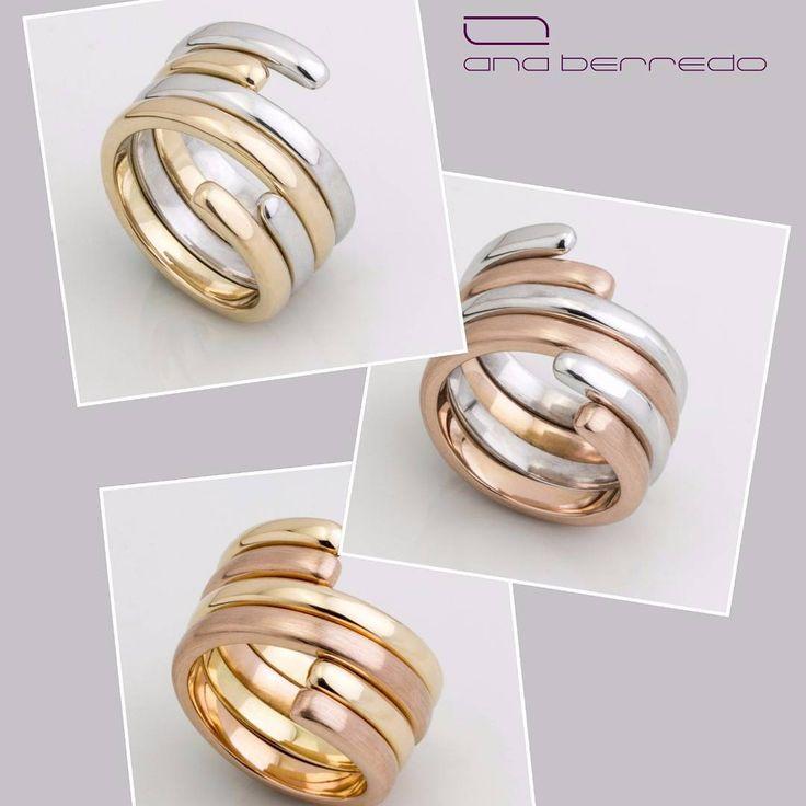 Anel Ajustes em ouro 18k - Vencedor do prêmio ideia Brasil de excelência em design.  #anaberredo #anel #ajustes #premioideiabrasil #brasil #design #joias #ouro #ouro18k #gold #riodejaneiro
