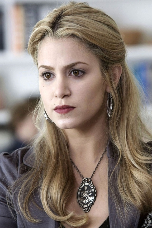 Rosalie - Slytherin, just because she wouldn't fit into any of the others!