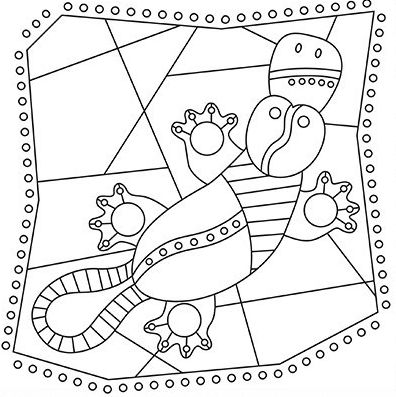 36 best COLOURING PAGES images on Pinterest | Aboriginal art ...