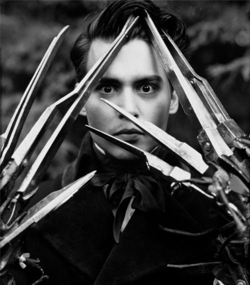 "Johnny Depp - ""Edward Scissorhands"" by Tim Burton"