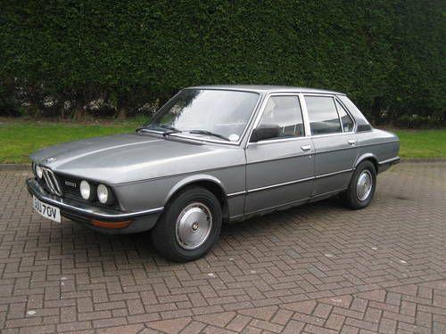 1979 BMW 520 E12