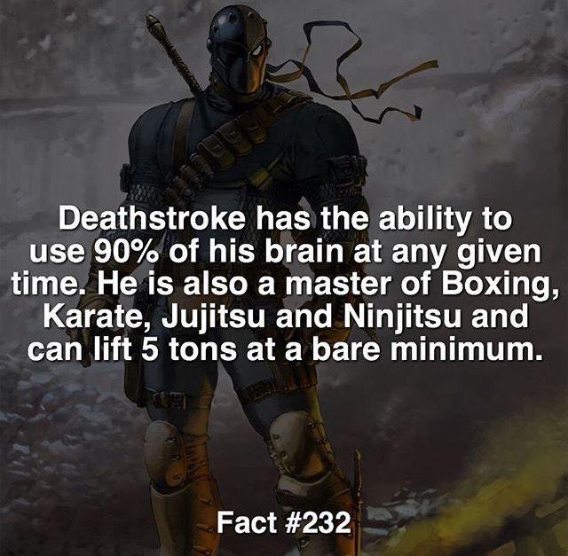 DC deathstroke fact #232