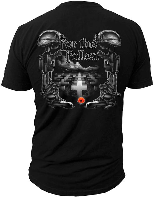 Men's American Pride T-Shirt - For The Fallen American Pride