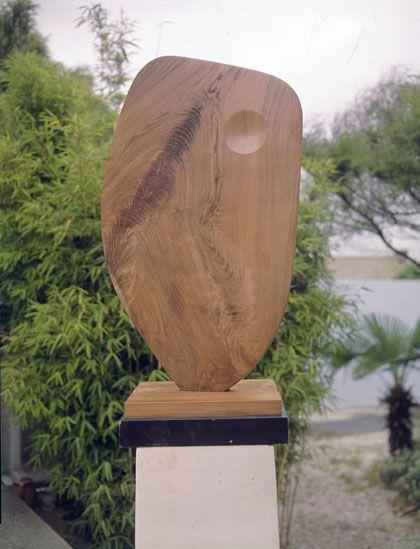 Barbara Hepworth Single Form (September), Walnut, 1961