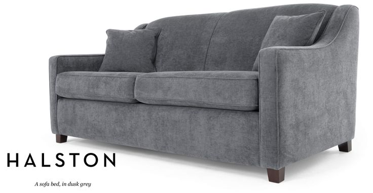Halston Sofa Bed in dusk grey | made.com