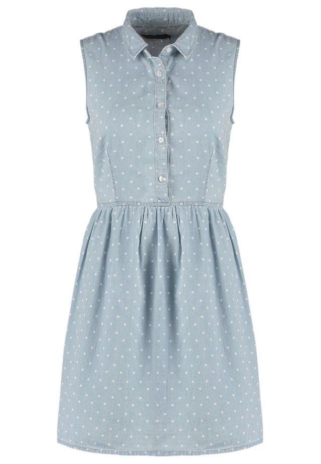 Vestidos románticos para esta Primavera: vaquero de Even&Odd - 34.95€