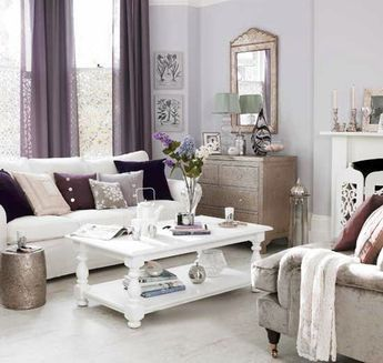 Best 25 silver living room ideas on pinterest for Silver and lilac living room