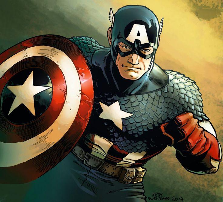 Ketty Formaggio: Capitan America marvel