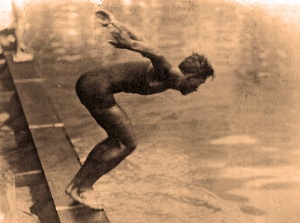 Duke Kahanamoku. 1912 Olympics. Gold Medal & World Record.