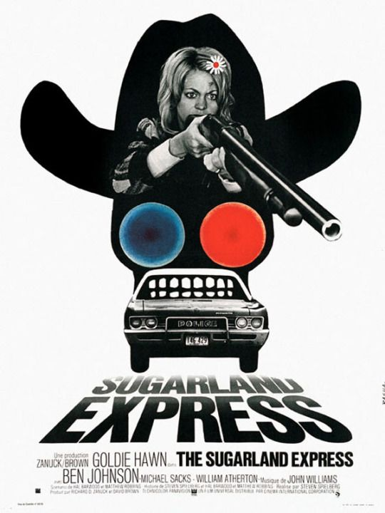 The Sugarland Express (1974). French-language poster.