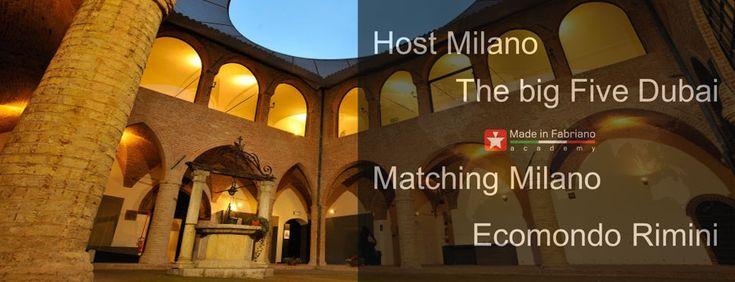 Dettaglio della Pinacoteca civica, nella foto viene associata alle 4 fiere dove ha partecipato l'Academy nel 2012. #Host #Milano #TheBigFive #Dubai #Matching #Milano #Ecomondo #Rimini