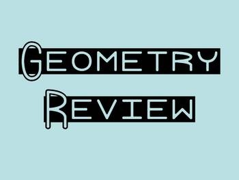 I'm using this Power Point as a warm up to review geometry concepts with my third grade class.  Print out 6 or 9 slide/page handouts for students t...