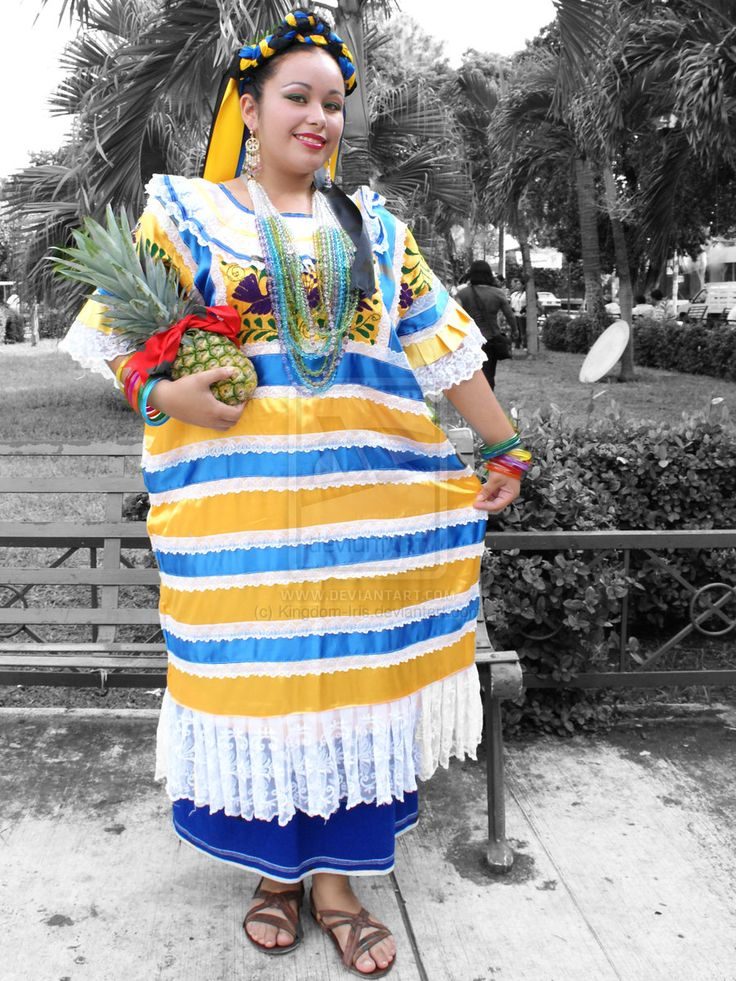 traje tipico de oaxaca ixcatlan - Buscar con Google