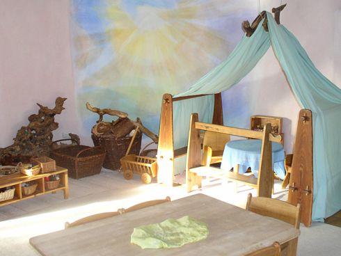 Waldorfkindergarten: Raumgestaltung