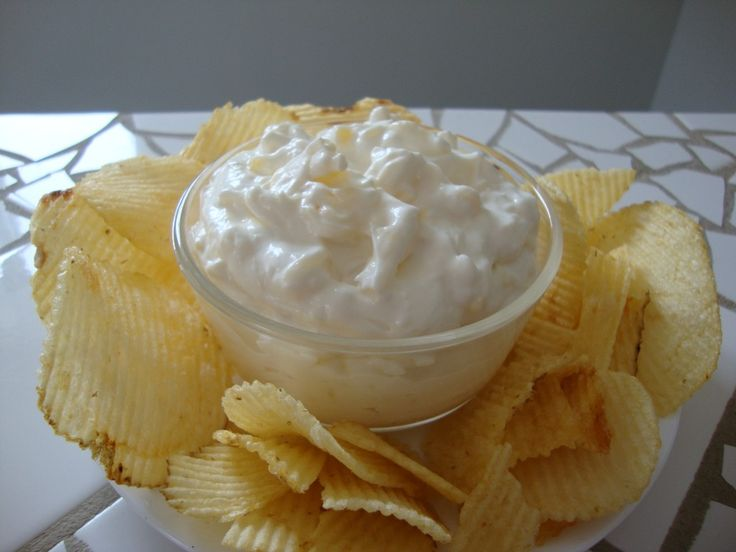 Pineapple Cream Cheese Dip - sooo yummy with Lay's Potato Chips.  I use crushed pineapple.