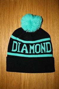 Diamond Supply Beanie Hat Bobble Black not Obey Monroe Supreme Comme | eBay