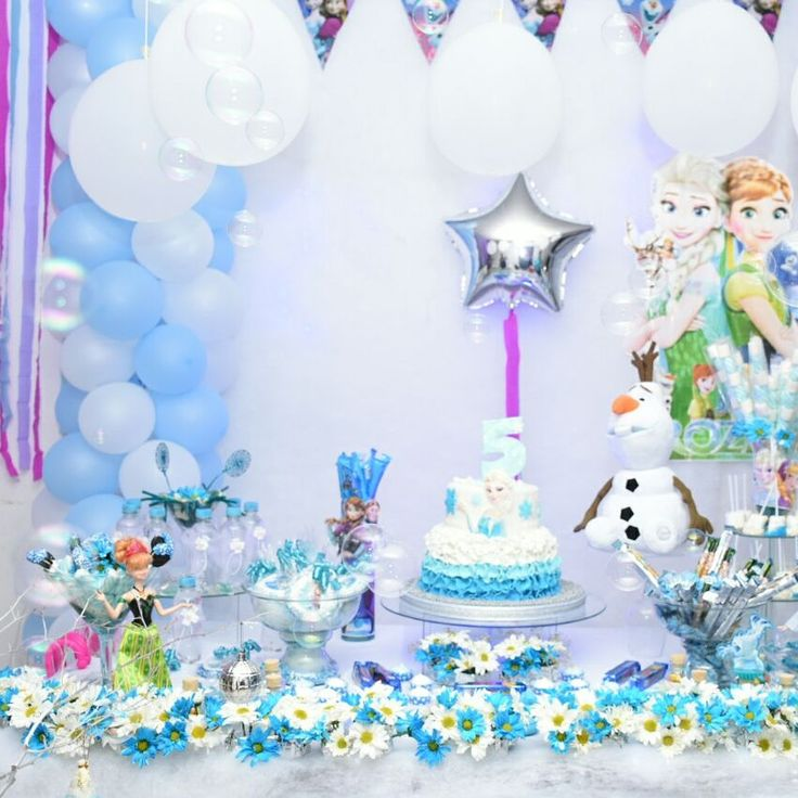 frozen`s party