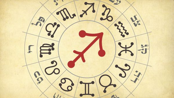 The sign of Sagittarius corresponds to the Hebrew month of Kislev. It is the central column of the f