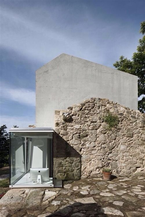 Old meets new in this home in Tebra, Spain by Irisarri + Piñera.