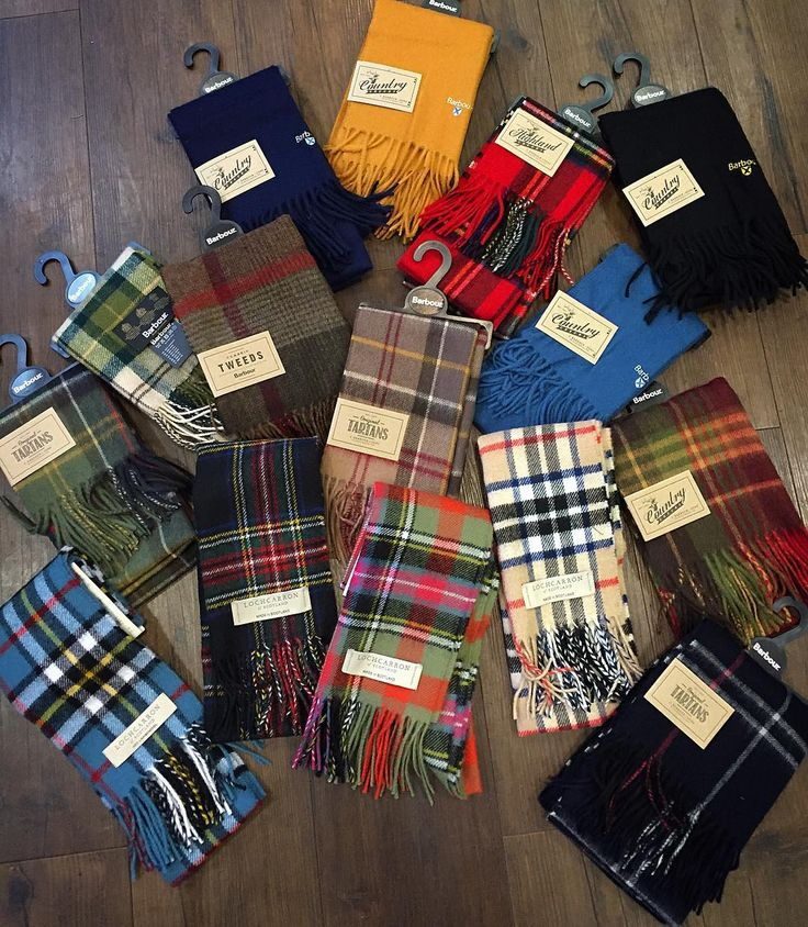 Protect ya neck with scarves from Barbour and Lochcarron of Scotland. In store now and online soon.  #Barbour #lochcarron #lochcarronofscotland #madeinscotland #scarves #protectyaneck #philipbrownemenswear #winteriscoming