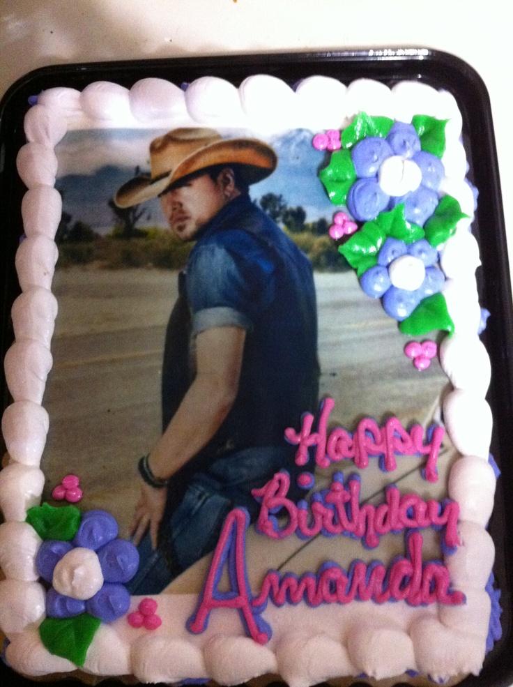 Luke Bryan Birthday Cake