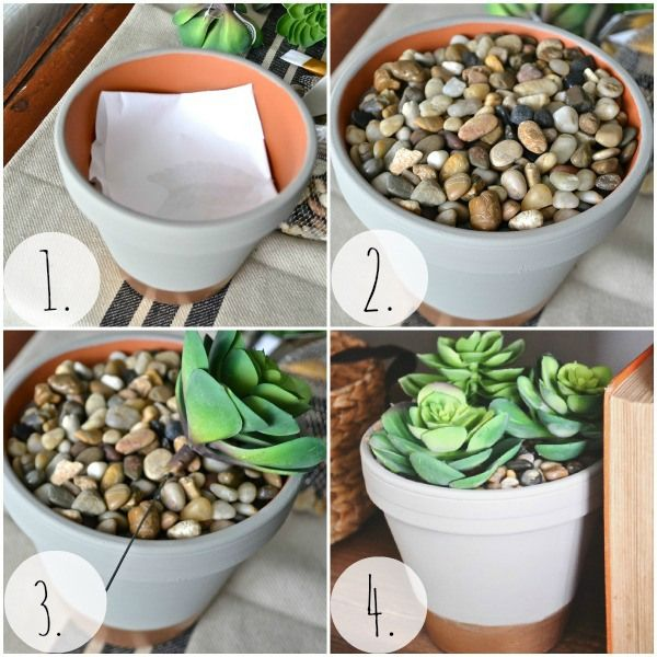 DIY succulent planter, that you can't kill!