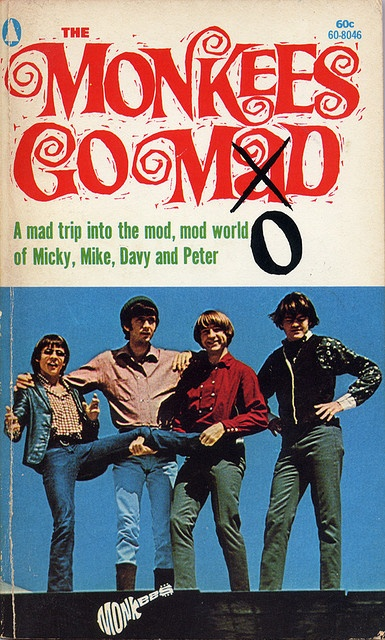 "The Monkees Go Mod. I bought this at the Santa Cruz Boardwalk ""newsstand"" in the 1960's."