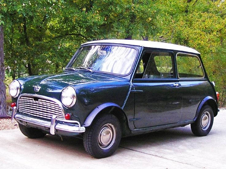 1963 MkI Mini - The first Mini Cooper car rolled off the production line on 26th August 1959 costing £469 (annual earnings for some people)