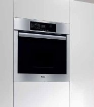 Miele Classic Design H4744BP 27 Single Electric Wall Oven True European Convection