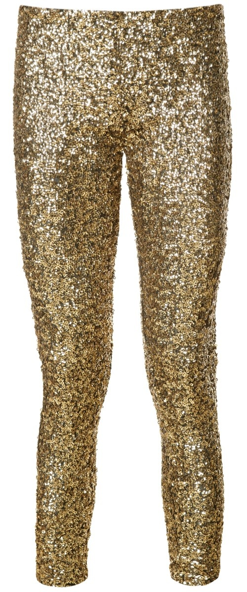 Gouden Pailletten Legging/ available at www.modemusthaves.com