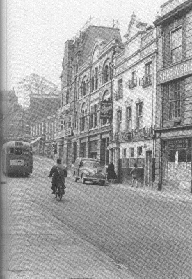 Station Hotel, 1960. Shrewsbury, Shropshire