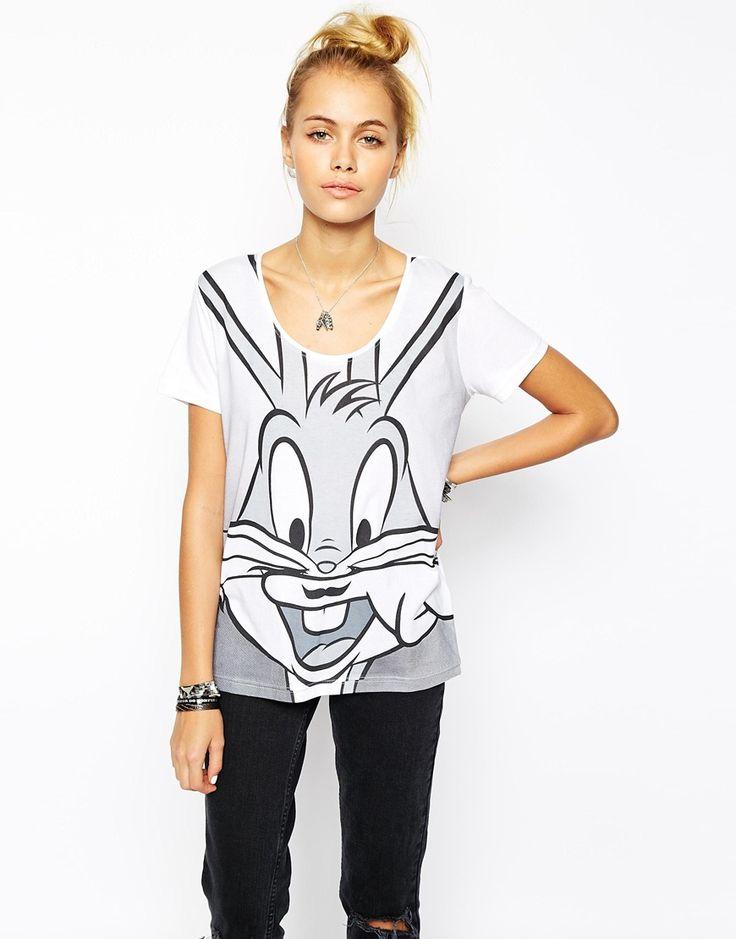 Eleven+Paris+Bugs+Bunny+Moustache+T-Shirt