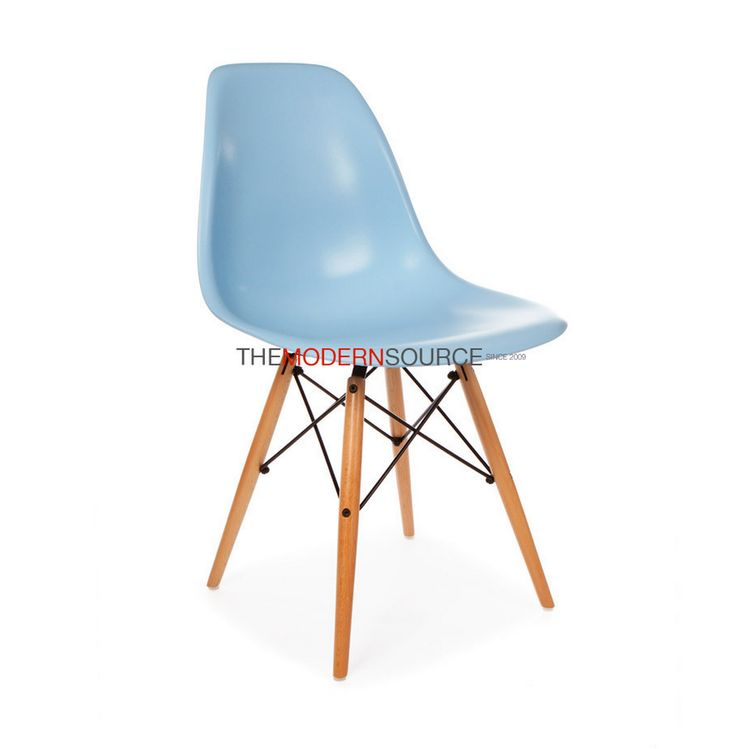 Here is the fantastic kid's version of the classic Eames style Eiffel chair; it is the perfect accessory to add both style and a color to your child's room. This chair is great for any area used by ch