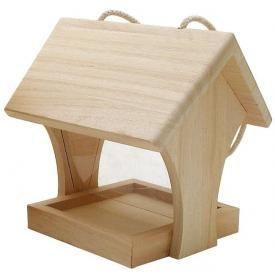 Vogel-Futterhaus, Holz                                                                                                                                                                                 Mehr
