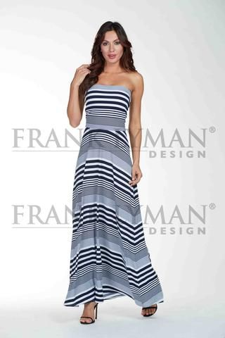 Frank Lyman 2017. Maxi dress/maxi skirt 2 in 1 design. Proudly Made in Canada