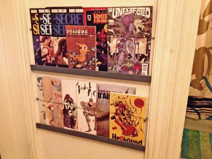15 Best Shelves Images On Pinterest Comic Room Shelving