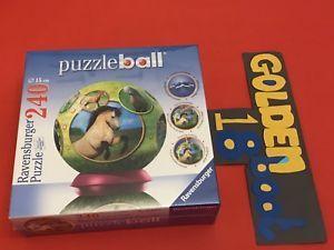 a ravensburger puzzle photographic horses puzzleball new sealed christmas gift