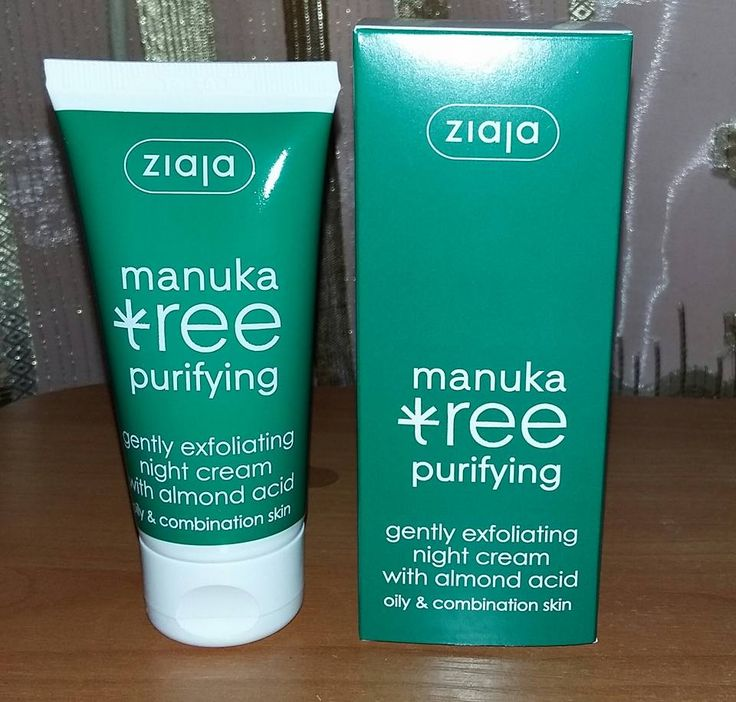 Review: Manuka Tree Purifying- crema de noapte exfolianta de la Ziaja