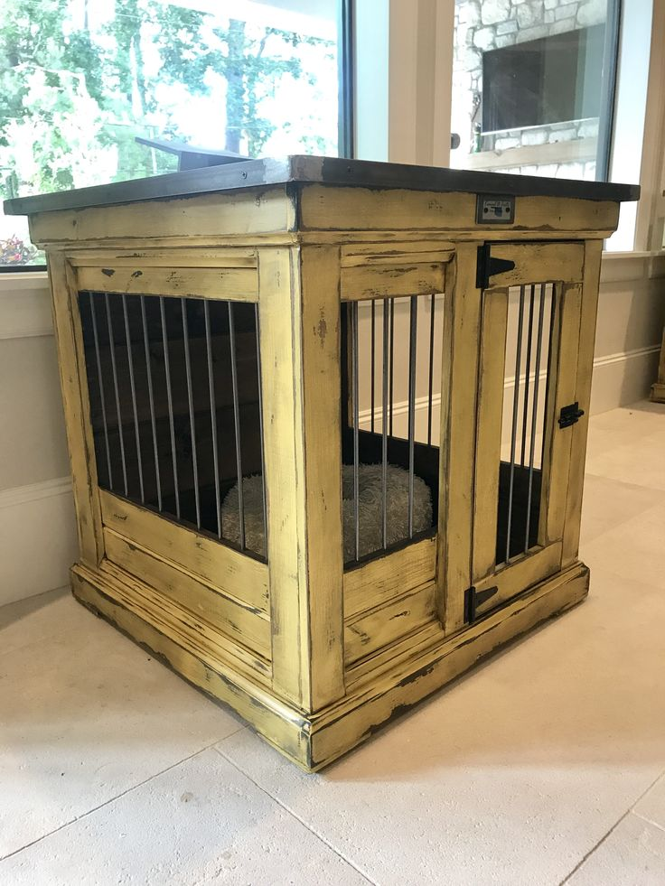 Best 25 indoor dog rooms ideas on pinterest indoor dog for Beautiful dog crates