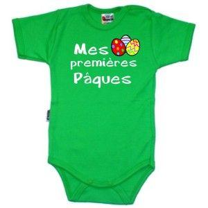 Body bébé original : mes premières PÂQUES